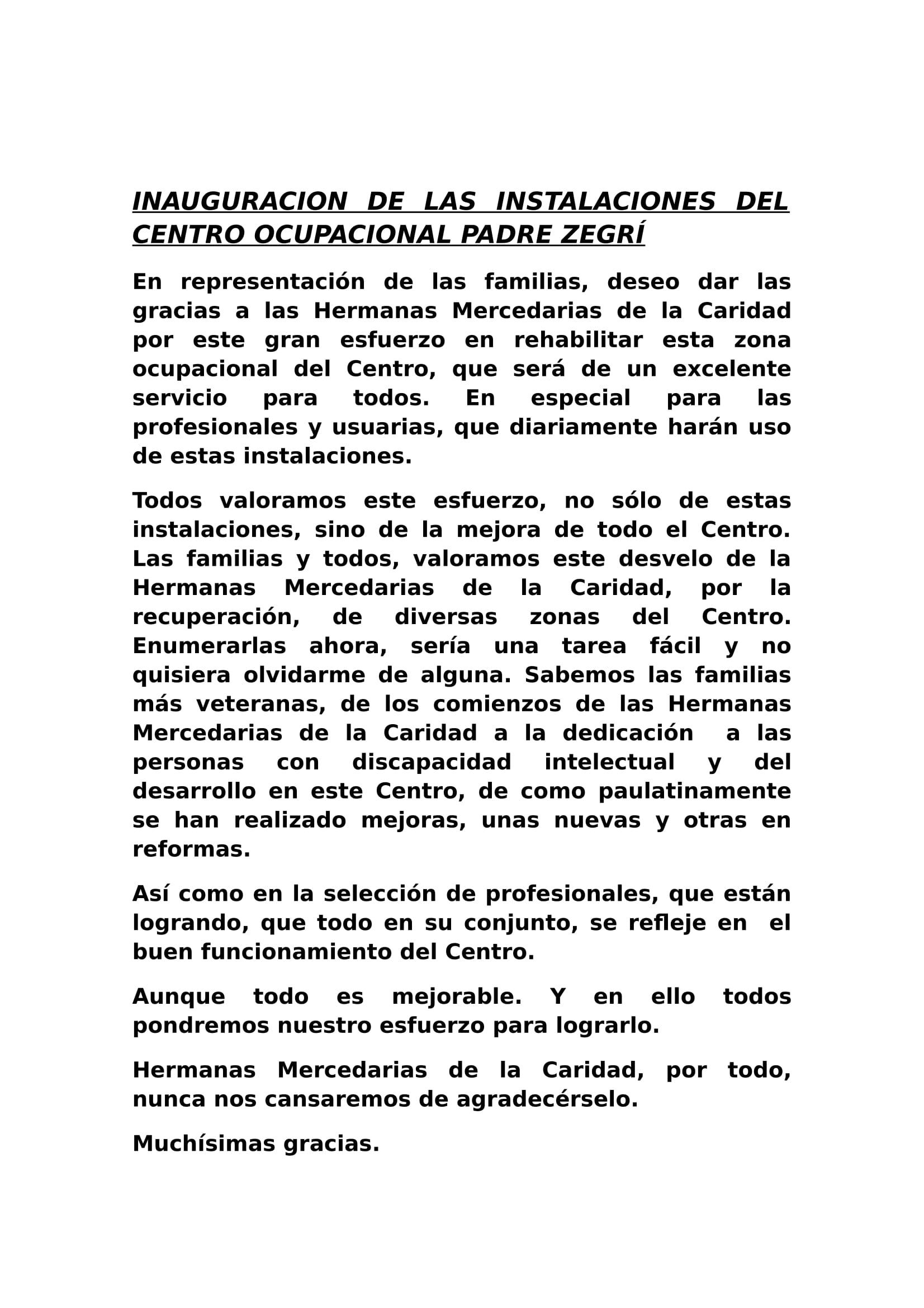 INAUGURACION TALLERES CENTRO ESPECIAL PADRE ZEGRÍ-1